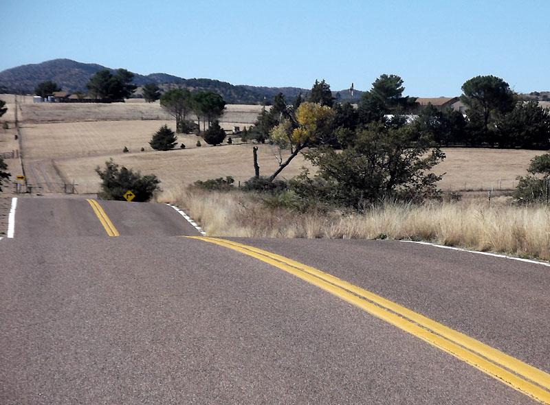 West on Canelo Road