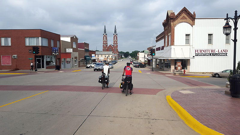Rolling back through Dyersville IA