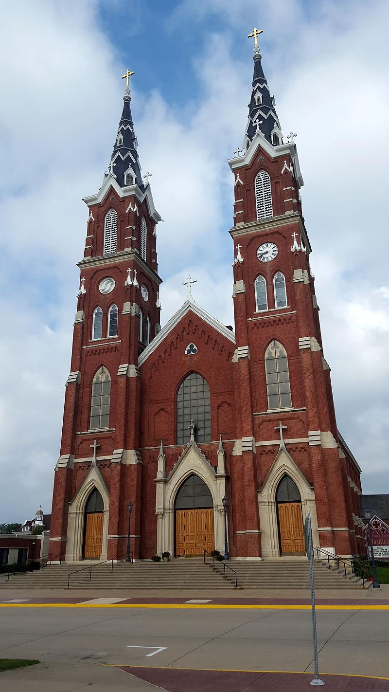 St. Francis Xavier Church, Dyersville IA