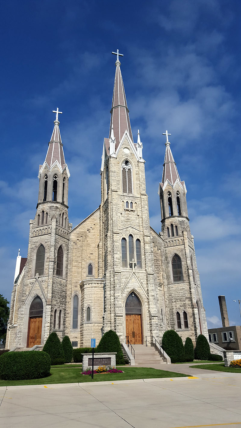 SS Peter & Paul Catholic Church in Petersburg IA