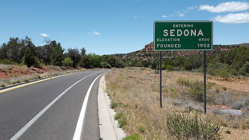 Reaching Sedona