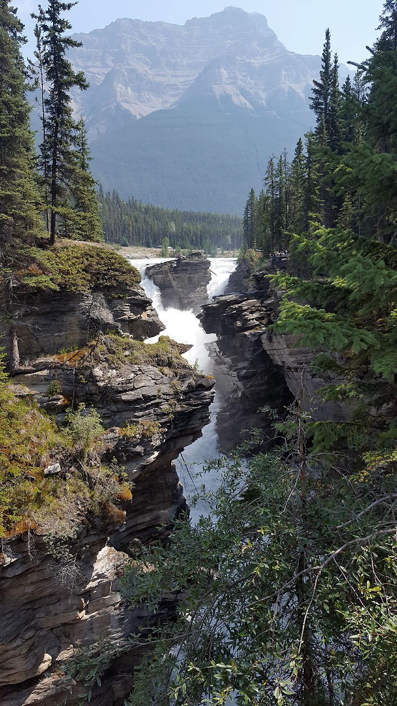 Athabasco Falls