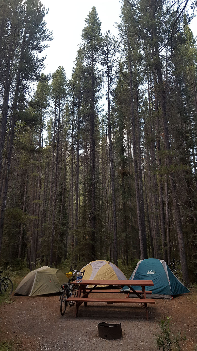 Hiker/biker campsite - perfect