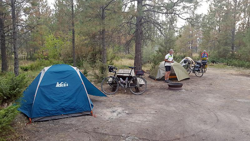 DUSTY campsite!
