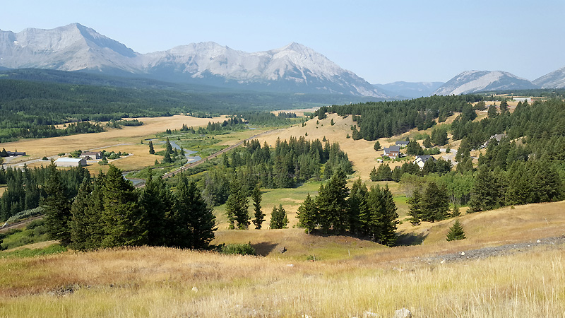 Crowsnest Pass area