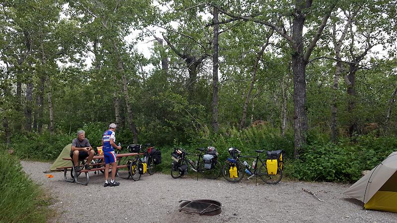 Hiker/biker site