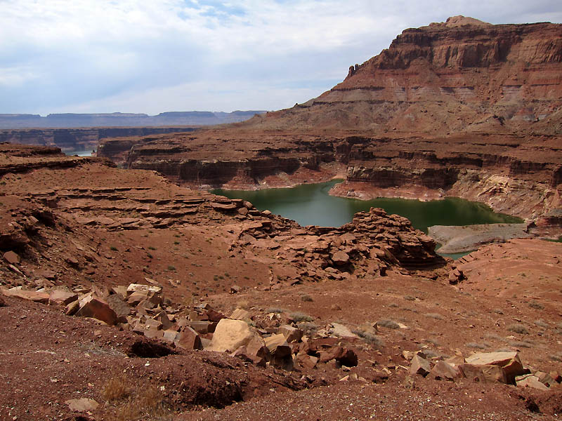 Early views of Lake Powell