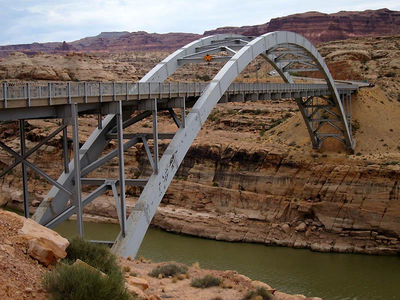 Bridge spanning Colorado River