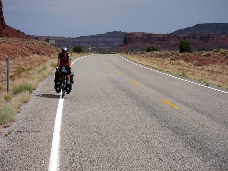 Pristine riding on remote roads