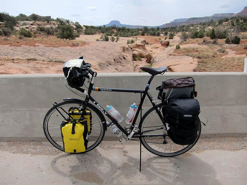 Pristine riding on remote roads
