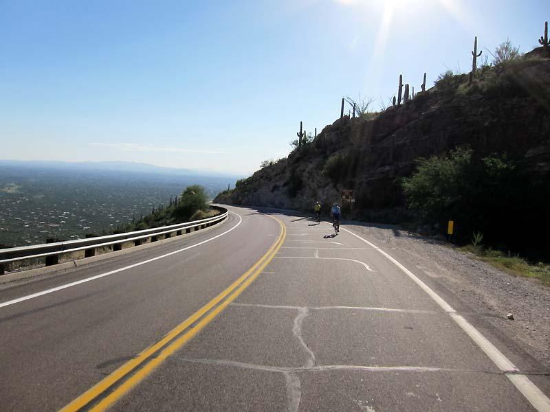 Tucson in sight