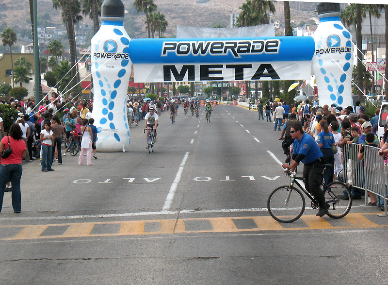 The Finish Line in Ensenada