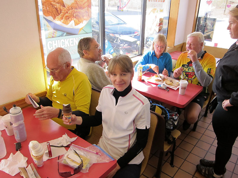 Jesse, Alex, Denise, Dana and Bill at DQ