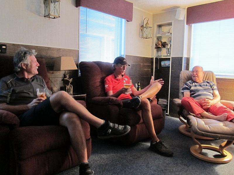 Talking story afterwards