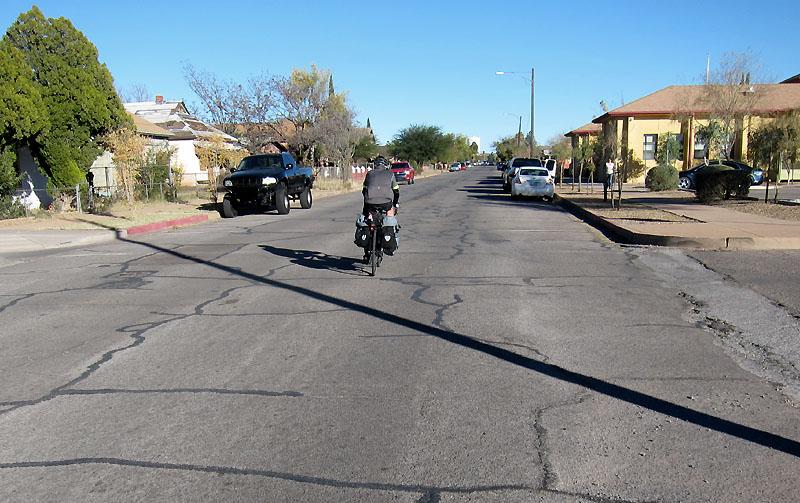 The neighborhood streets of Douglas