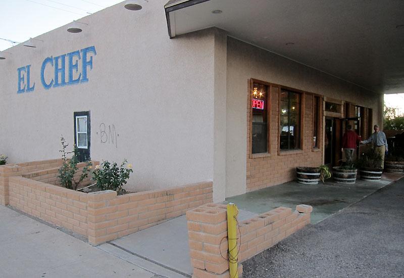 El Chef Restaurant, Douglas AZ