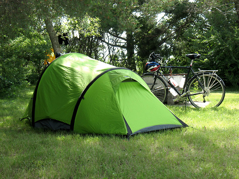 Campsite in Stanley, ND