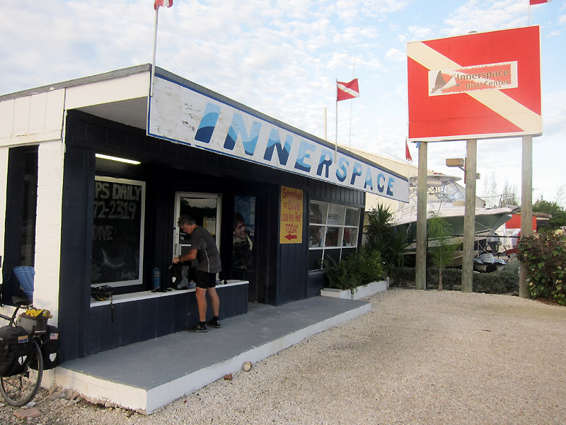 Innerspace Dive Center on Big Pine Key