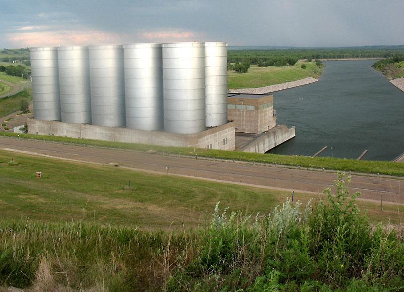 Downstream from Garrison Dam