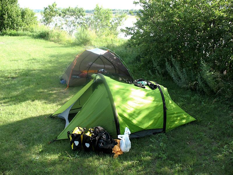 Camp at Don Steckel