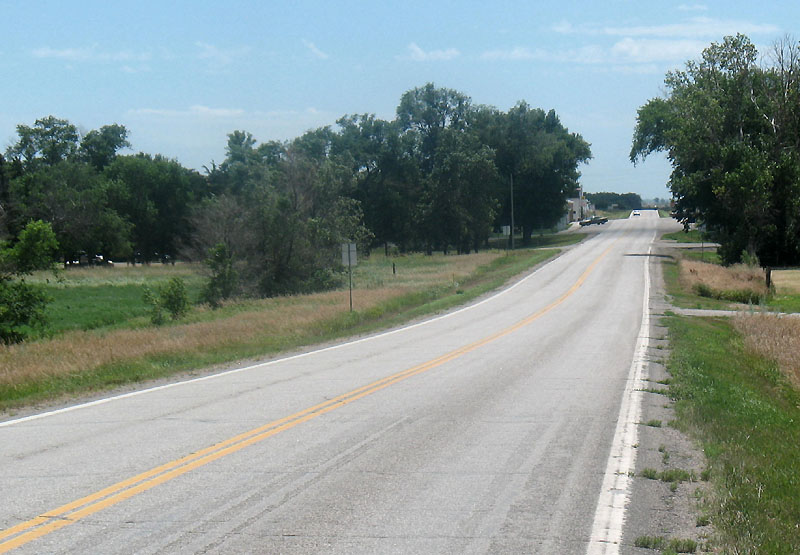 South on US83