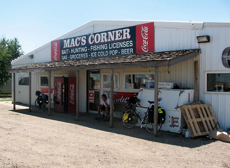 Mac's Corner in Stephan SD