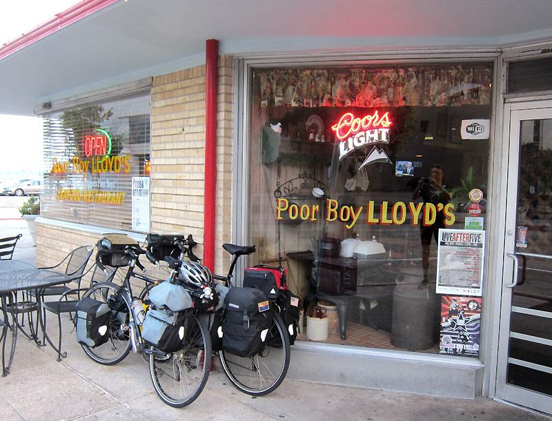 Poor Boy Lloyd's in downtown Baton Rouge