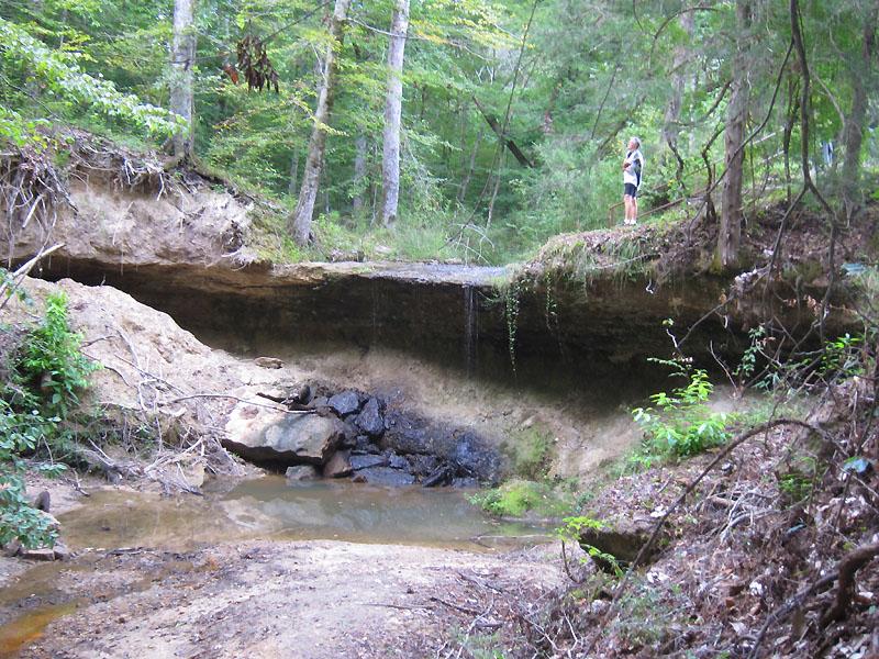 Owens Creek Waterfall