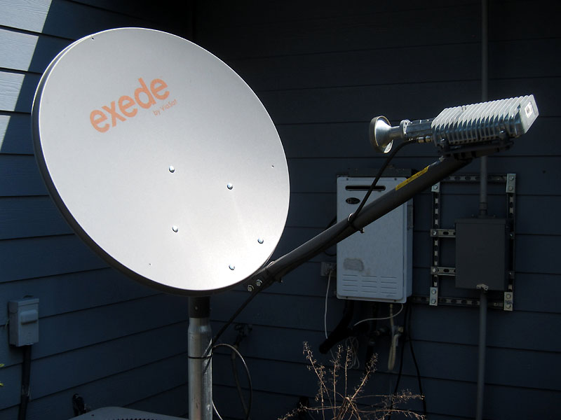 Viasat's Excede is a  generation or two advanced from what I used to design