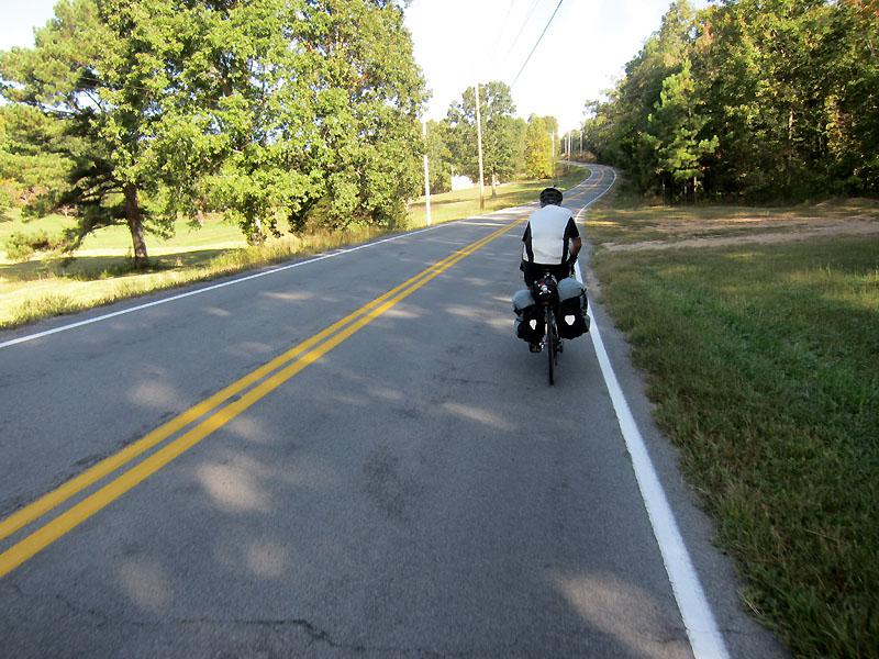 Beautiful morning riding