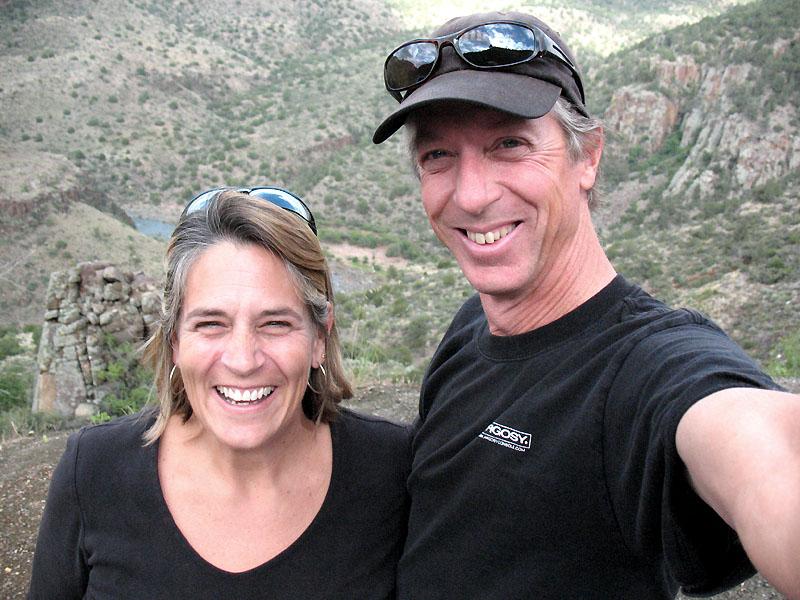 At Salt River Canyon