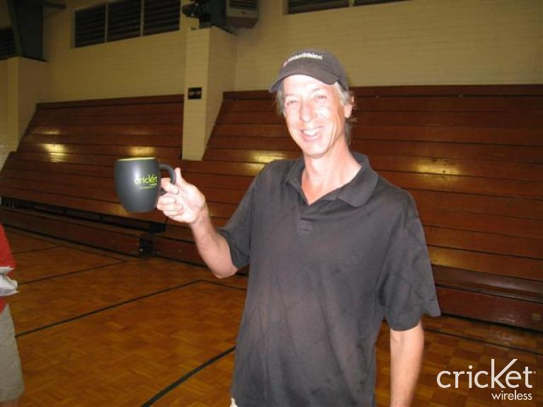 I won this Cricket coffee mug during ETP 2008 registration