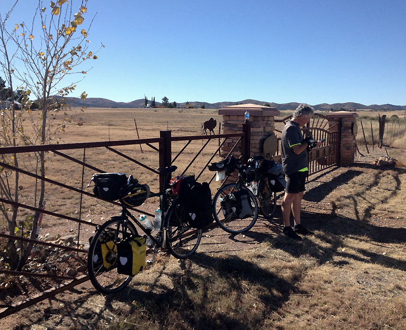 Snack stop on the way to Sonoita