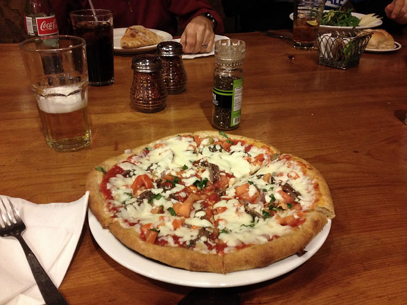 Designer pizza