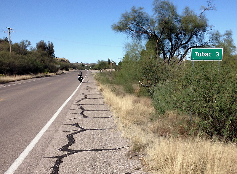 Almost to Tubac